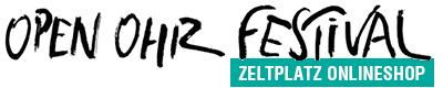 OpenOhr Zeltplatz Onlineshop